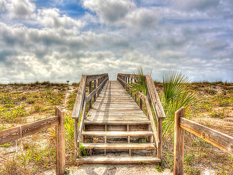 Boca Grande Boardwalk by Jenny Ellen Photography