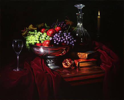 Bodegon italiano by William Martin