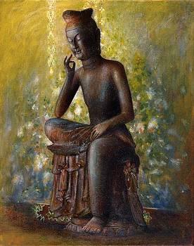 Bodhisattva-Miroku by Chikako Takizawa