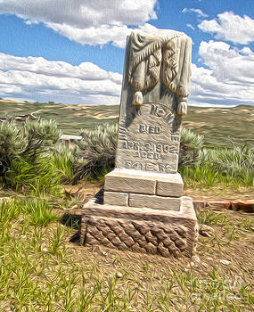 Gregory Dyer - Bodie Ghost Town - Boot Hill 01