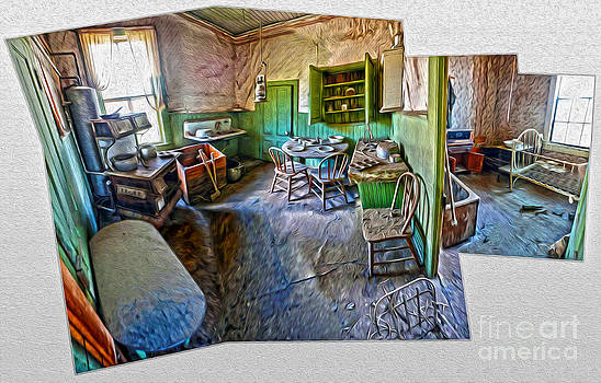 Gregory Dyer - Bodie Ghost Town - Old House Interior 02