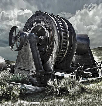 Gregory Dyer - Bodie Ghost Town- Old Mining Equipment 01