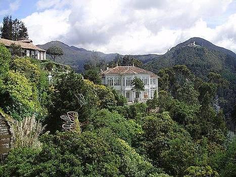 Bogota Mountain by Barbara Ruzzene