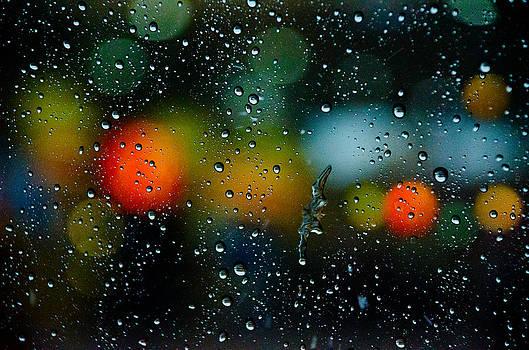 Bokeh Rain by William Shevchuk