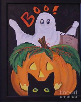Boo-Happy Halloween by Janna Columbus
