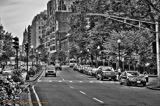 Boston City Scape by Dan Crosby
