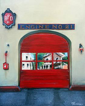 PAUL WALSH - BOSTON FIRE ENGINE 21