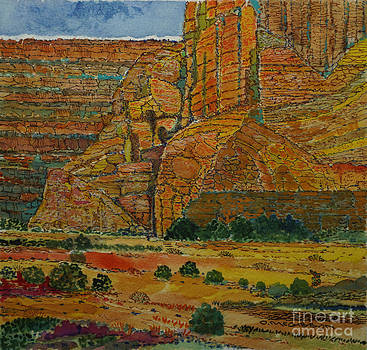 Box Canyon in Utah by Donald McGibbon