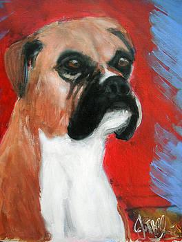 Jon Baldwin  Art - Boxer Dog