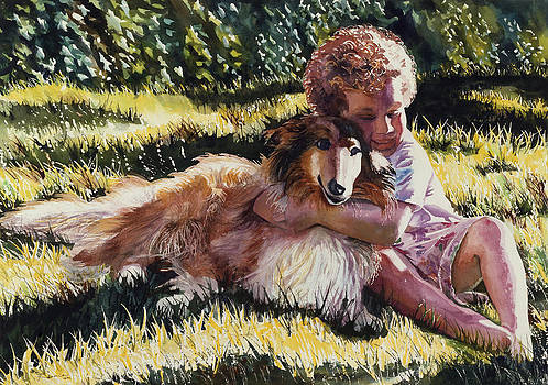 Maureen Dean - Boy and Collie