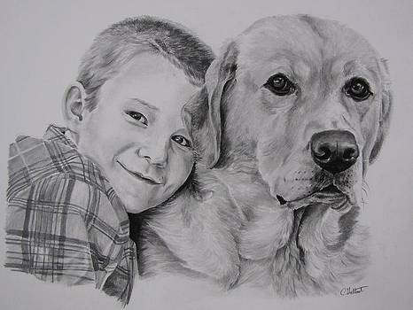 Boy and his Dog by Cassandra Gallant
