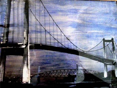 Bridge At Night by Lalhmunlien Varte