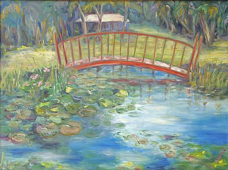 Bridge in Vero Beach by Barbara Anna Knauf