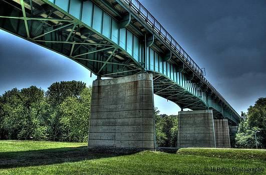 Bridge Of Blue by Heather  Boyd