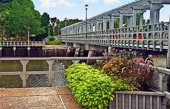 Bridge Over Canal by Susan Leggett