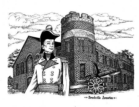 Brockville Armouries 2005 by John Cullen