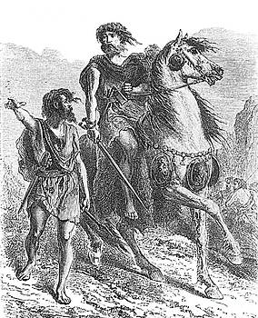 Photo Researchers - Bronze Age Warrior