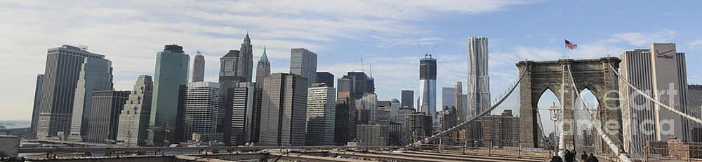 Chuck Kuhn - Brooklyn Bridge Pano