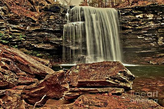 Adam Jewell - Brown Waterfall Canyon