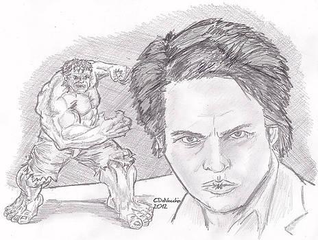 Chris  DelVecchio - Bruce Banner- The Hulk