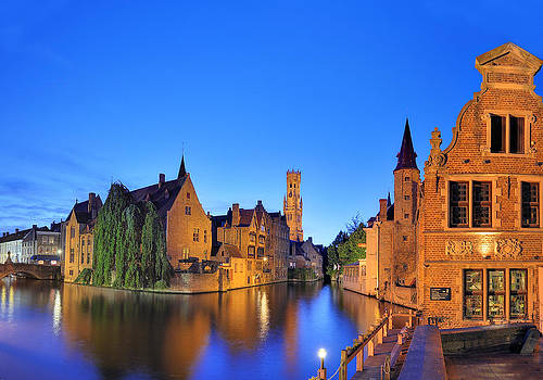Bruges Belgium by Travel Images Worldwide