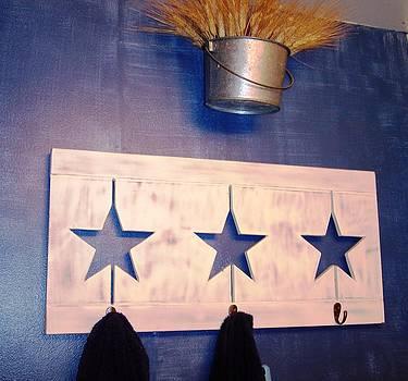 Anna Villarreal Garbis - Brushed Denim Wall
