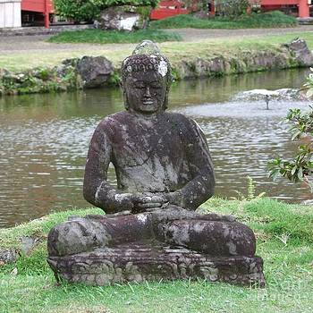 Mary Deal - Buddha at Byodo-In Temple