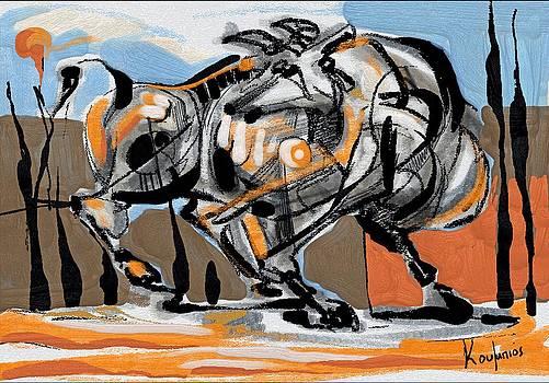 Bull 3 by Alexandros Koumpios