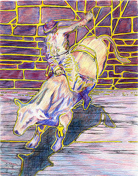 Bull Rider 2 by A Leon Miler