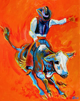 Bullrider by Jenn Cunningham