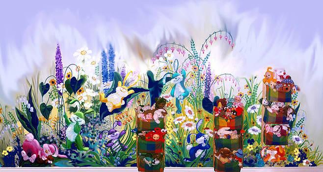 Hanne Lore Koehler - Bunny Mural
