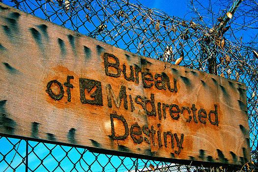Bureau of Misdirected Destiny by Claude Taylor