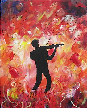 Burning up the Violin by Wendy Smith