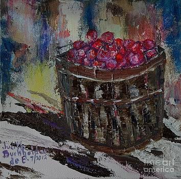 Bushel of Snow Apples - SOLD by Judith Espinoza