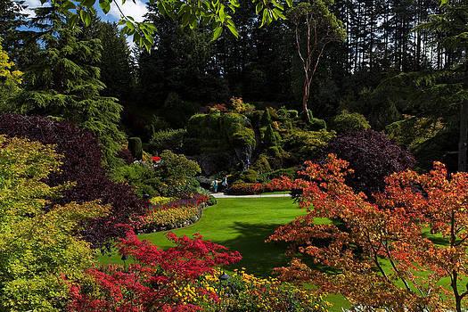 Matt Dobson - Butchart Gardens - Sunken Garden