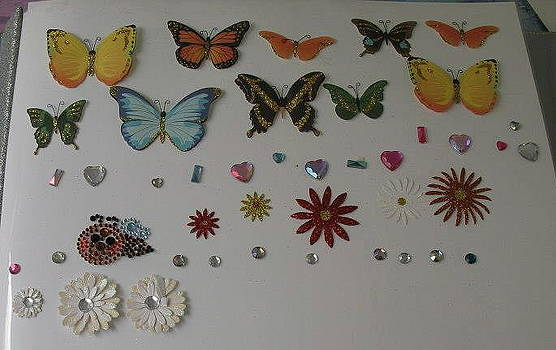 Butterflies in Tandem by Diana  Lesher