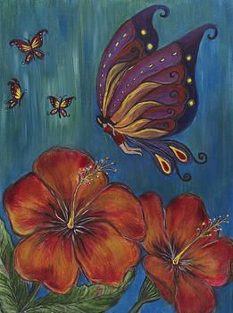 Butterfly Fairy by Kristen Fagan