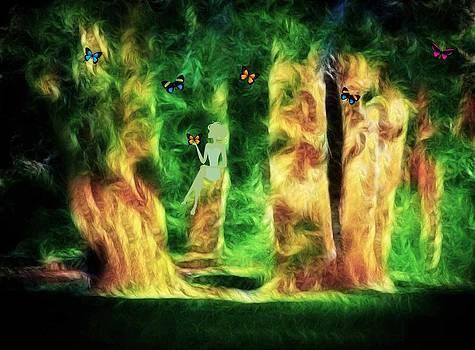 Butterfly Forest by Linda Gesualdo