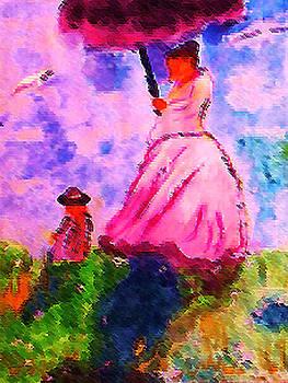 By Monet  impressionist  artist by Anna Lewis