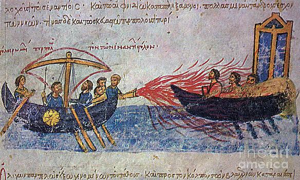 Photo Researchers - Byzantine Sailors