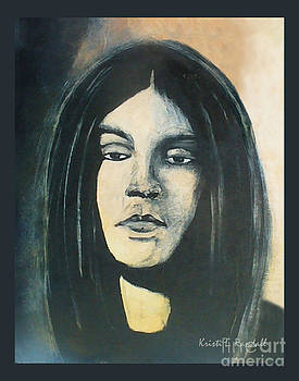 C. J. Ramone The Ramones Portrait by Kristi L Randall