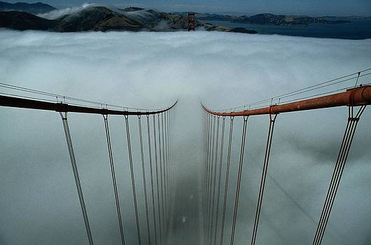 Cables Of The Golden Gate Bridge by Randy Olson