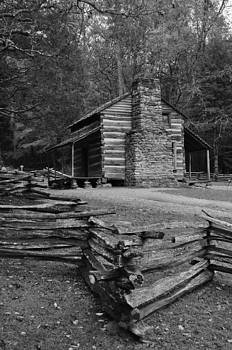 Cades Cove Cabin by Jeff Moose