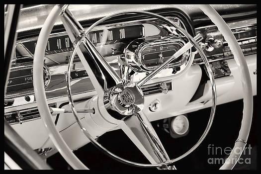 Cadillac control panel by Miso Jovicic