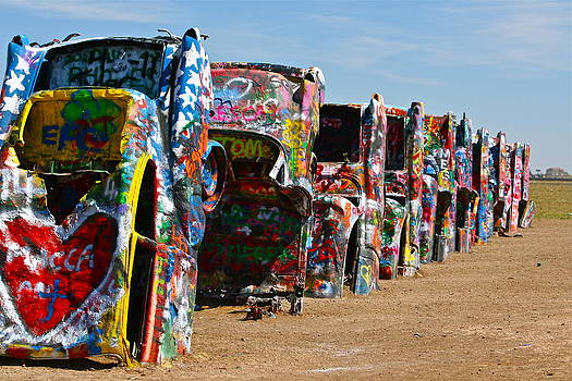 Cadillac Ranch by Terry Hollensworth-Rutledge