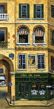 Marilyn Dunlap - Cafe Van Gogh Paris