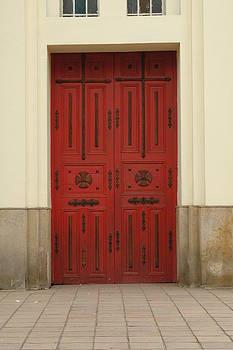 Cajica Door by Kathy Schumann