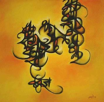 Calligraphy 2 by Subhash Jamdade