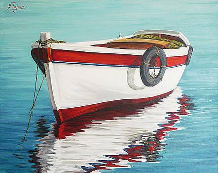 Calm sea by Natalia Tejera