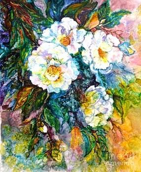 Camellias by Marieve Ortiz